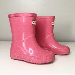 Hunter Rain Boots Toddler Pink 4
